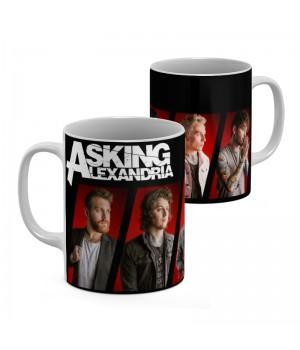 "Кружка ""Asking Alexandria"""