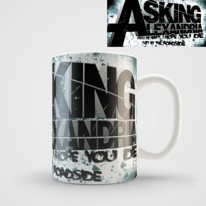 "Кружка ""Asking Alexandria"" (971)"