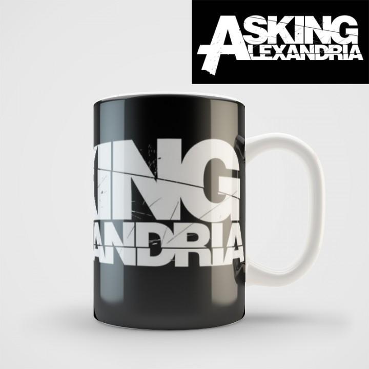 "Кружка ""Asking Alexandria"" (973)"