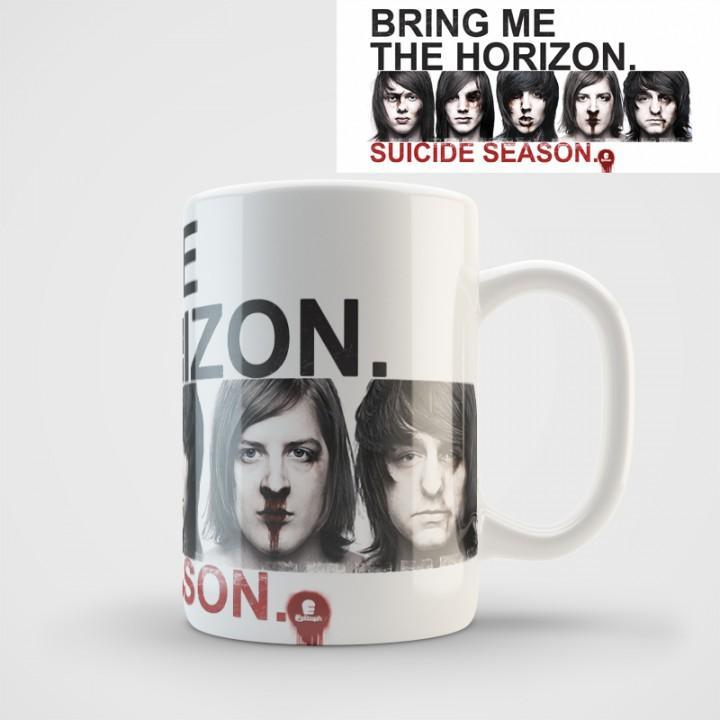 "Кружка ""Bring Me The Horizon"" (980)"