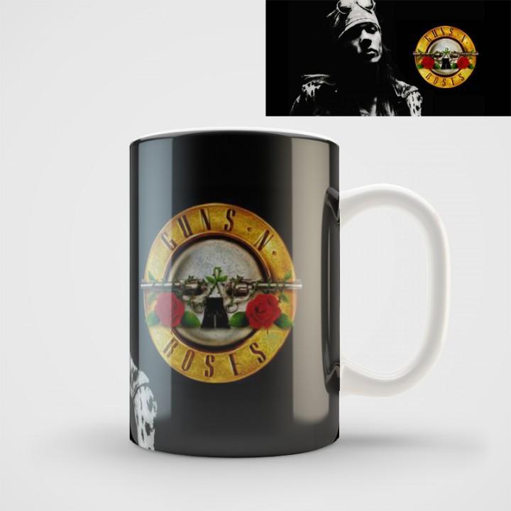 """Кружка """"Guns N' Roses"""" (1056)"""