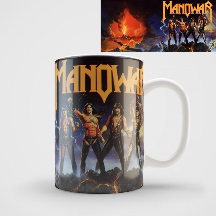 """Кружка """"Manowar"""" (1073)"""