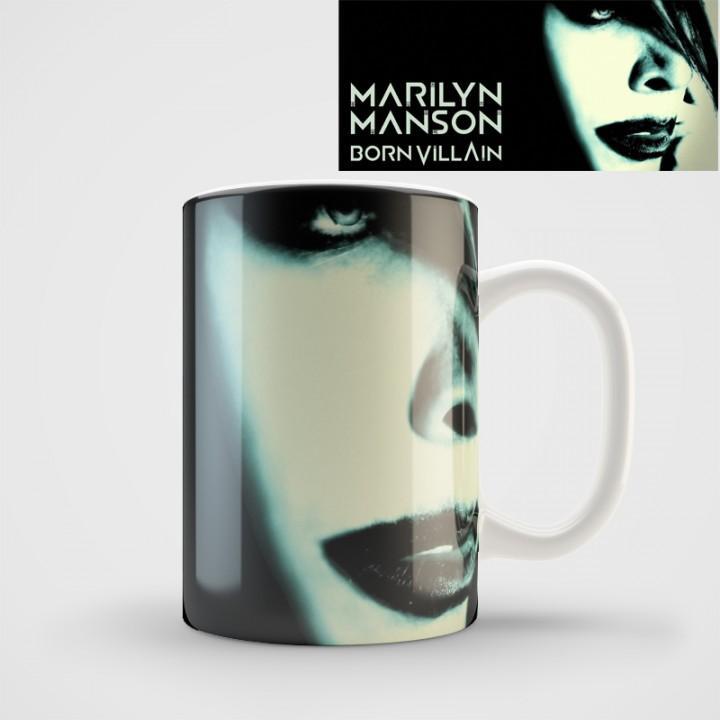 "Кружка ""Marilyn Manson"" (1078)"