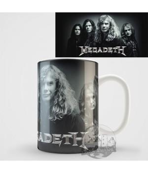 "Кружка ""Megadeth"""