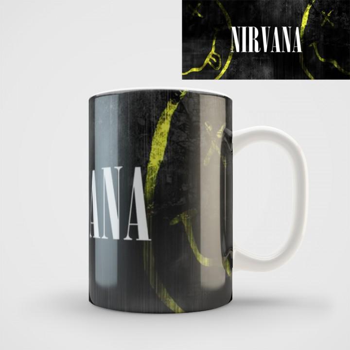 "Кружка ""Nirvana"" (1107)"