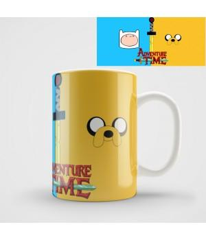 "Кружка ""Adventure Time (Время приключений)"""