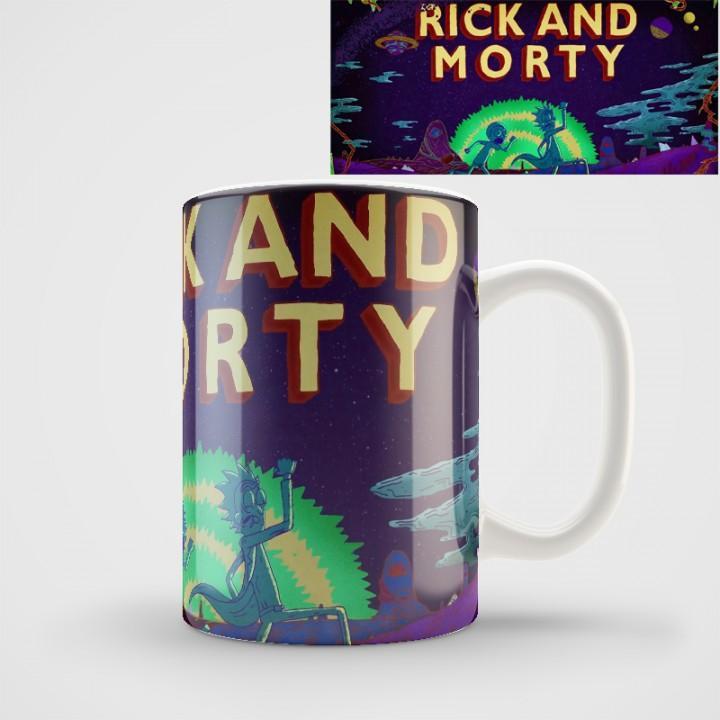 """Кружка """"Rick and Morty (Рик и Морти)"""" (1153)"""