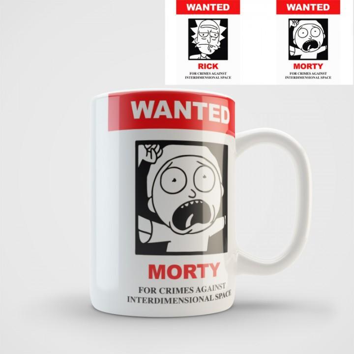 """Кружка """"Rick and Morty (Рик и Морти)"""" (1155)"""