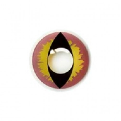 "Линзы пурпурные ""Кошачий глаз"" (361)"