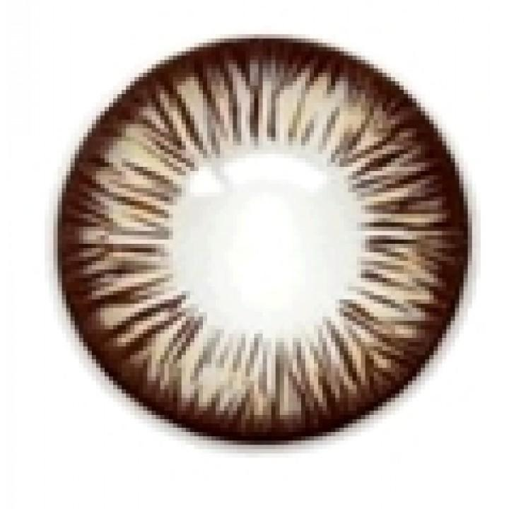 "Линзы коричневые ""Узор"" (400)"