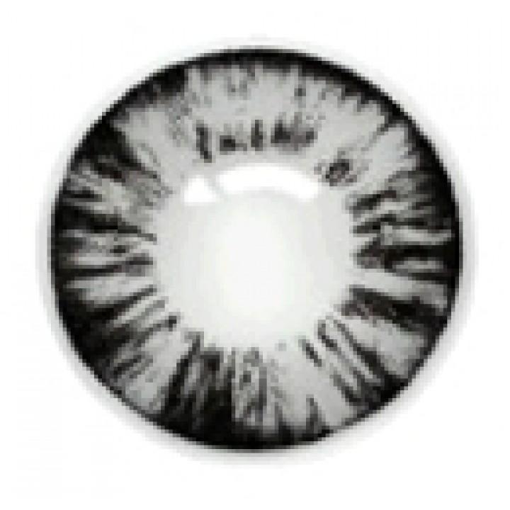 """Линзы серые """"Узор"""" (403)"""