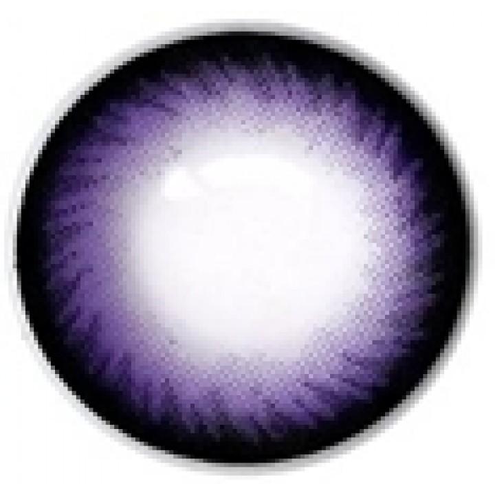 """Линзы фиолетовые """"Узор"""" (418)"""