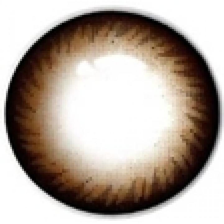 "Линзы коричневые ""Узор"" (419)"
