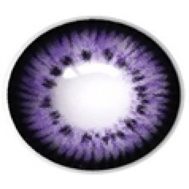 """Линзы фиолетовые """"Узор"""" (422)"""
