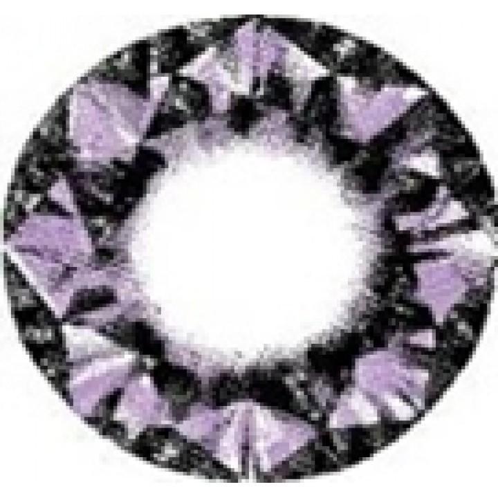 """Линзы фиолетовые """"Узор"""" (439)"""
