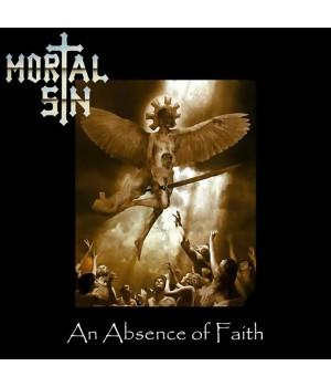 "Виниловая пластинка Mortal Sin ""An Absence Of Faith"" (1LP) Black"