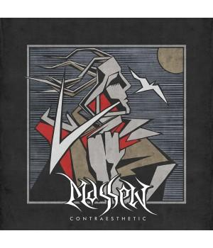 "Виниловая пластинка Massen ""ContrAesthetic"" (1LP) Clear/Black Marbled"