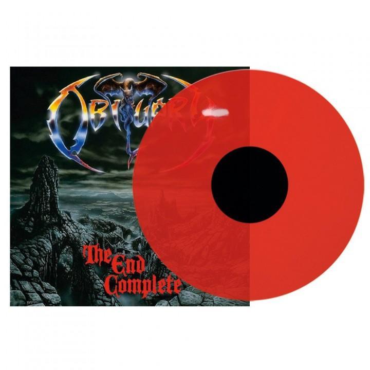 "Виниловая пластинка Obituary ""The End Complete"" (1LP) Red Translucent"