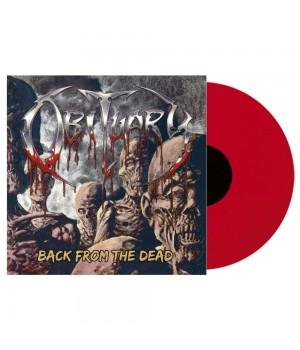 "Виниловая пластинка Obituary ""Back From The Dead"" (1LP) Transparent Red"