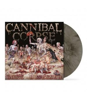 "Виниловая пластинка Cannibal Corpse ""Gore Obsessed"" (1LP) Grey-Brown Clear Marbled"