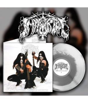 "Виниловая пластинка Immortal ""Battles In The North"" (1LP) White/black marble"