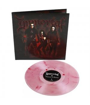 "Виниловая пластинка Immortal ""Damned In Black"" (1LP) Clear with Red Marble"