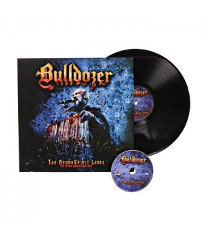 "Виниловая пластинка Bulldozer ""The NeuroSpirit Lives"" (1LP + DVD)"
