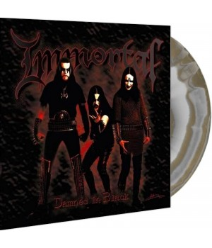 """Виниловая пластинка Immortal """"Damned In Black"""" (1LP) Silver and gold"""
