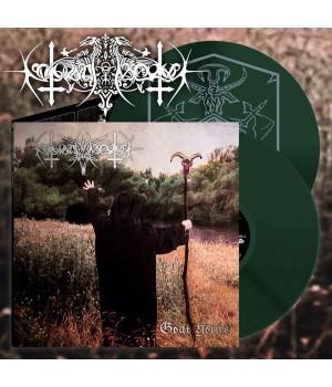 """Виниловая пластинка Nokturnal Mortum """"Goat Horns"""" (2LP) Green"""
