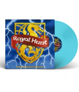 "Виниловая пластинка Royal Hunt ""Land Of Broken Heartsn"" (1LP) Blue solid"