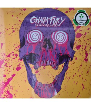 "Виниловая пластинка The Charm The Fury ""The Sick, Dumb & Happy"" (1LP) Bl-Colored"