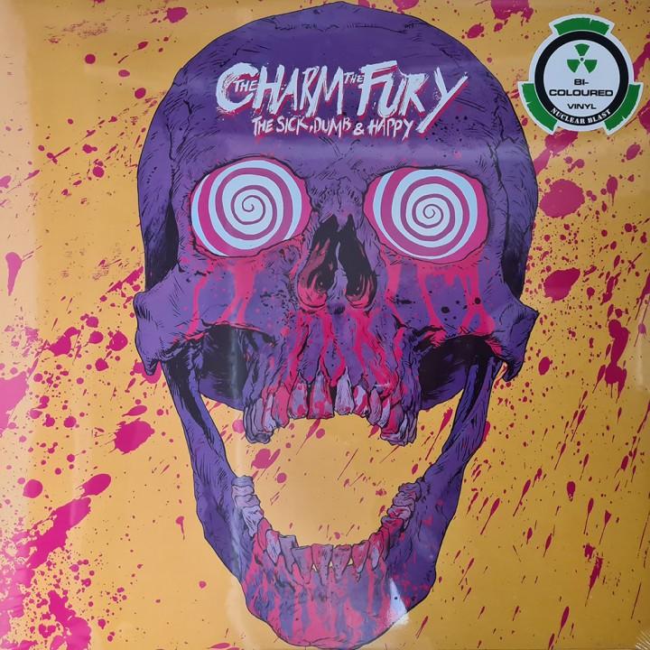 "Виниловая пластинка The Charm The Fury ""The Sick, Dumb & Happy"" (1LP) Bl-Colored"