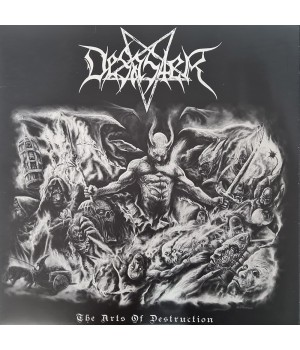"Виниловая пластинка Desaster ""The Arts Of Destruction"" (1LP) White"