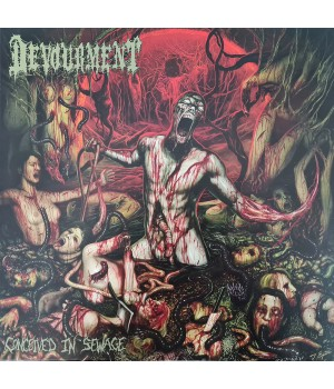 "Виниловая пластинка Devourment ""Conceived In Sewage"" (1LP) Maroon"