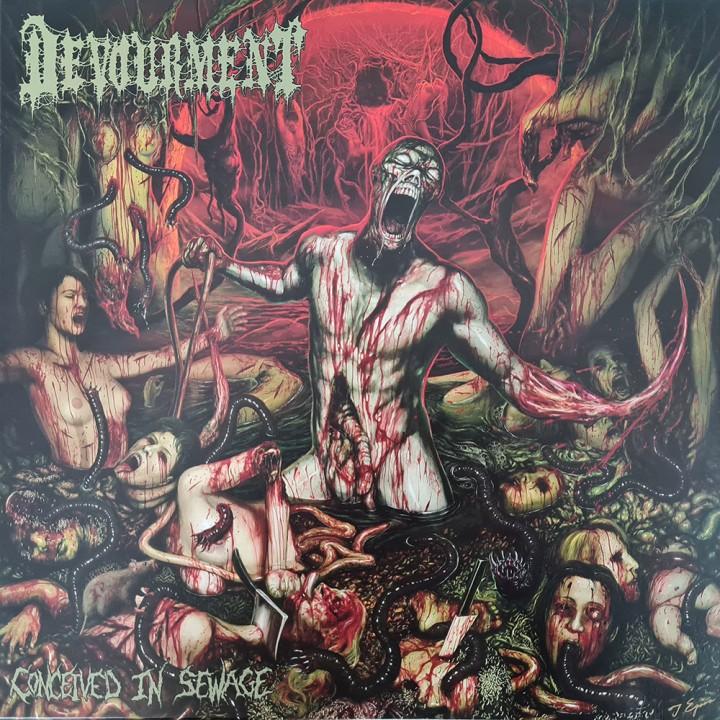 "Виниловая пластинка Devourment ""Conceived In Sewage"" (1LP) Maroon"