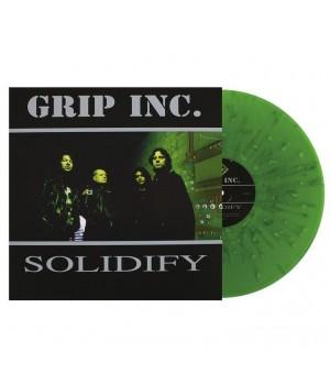 """Виниловая пластинка Grip Inc. """"Solidify"""" (1LP) Green Splatter"""