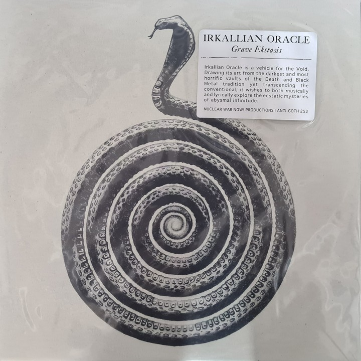 "Виниловая пластинка Irkallian Oracle ""Grave Ekstasis"" (1LP)"