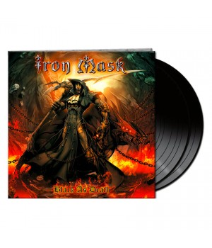 "Виниловая пластинка Iron Mask ""Black As Death"" (2LP)"