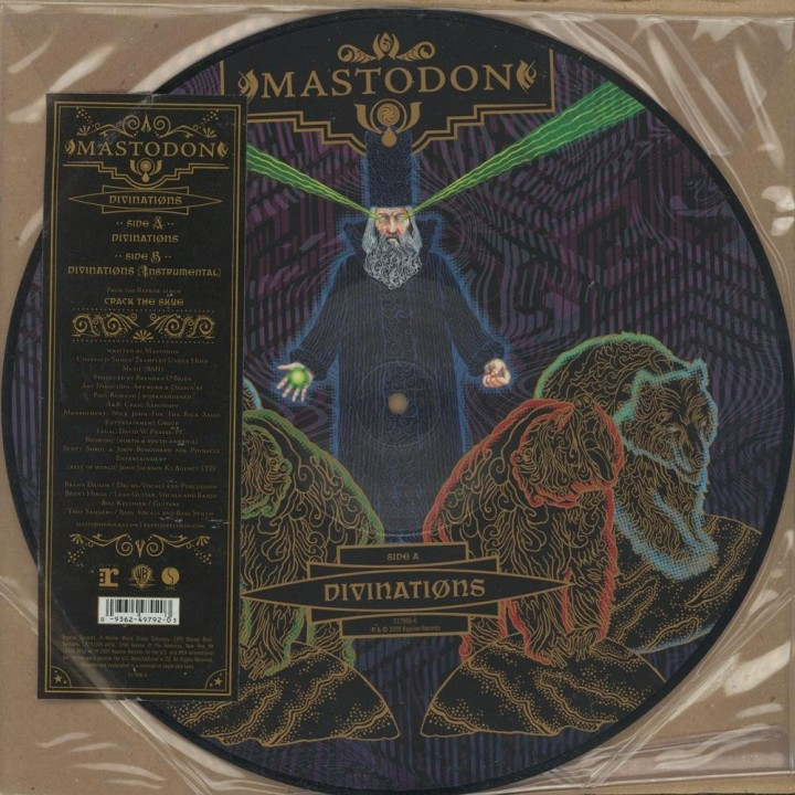 """Виниловая пластинка Mastodon """"Divinations"""" (1LP) Picture"""