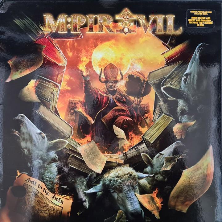 "Виниловая пластинка Mpire Of Evil ""Hell To The Holy"" (1LP) Red Splatter"
