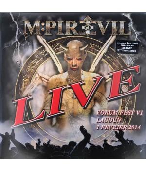 "Виниловая пластинка Mpire Of Evil ""LIVE Forum Fest"" (1LP)"