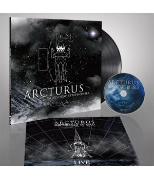 """Виниловая пластинка Arcturus """"Sideshow Symphonies"""" (1LP) + DVD"""
