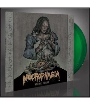 """Виниловая пластинка Necrophagia """"Whiteworm Cathedral"""" (2LP) Green"""