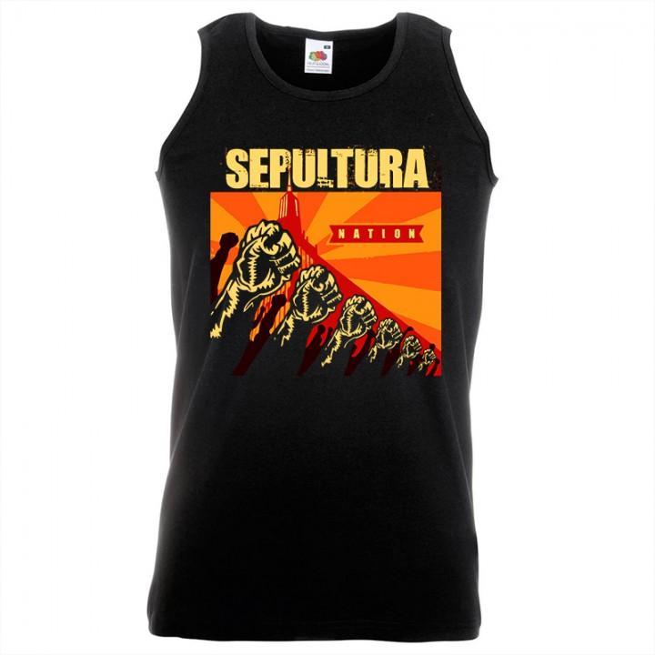"""Майка """"Sepultura"""" (585)"""