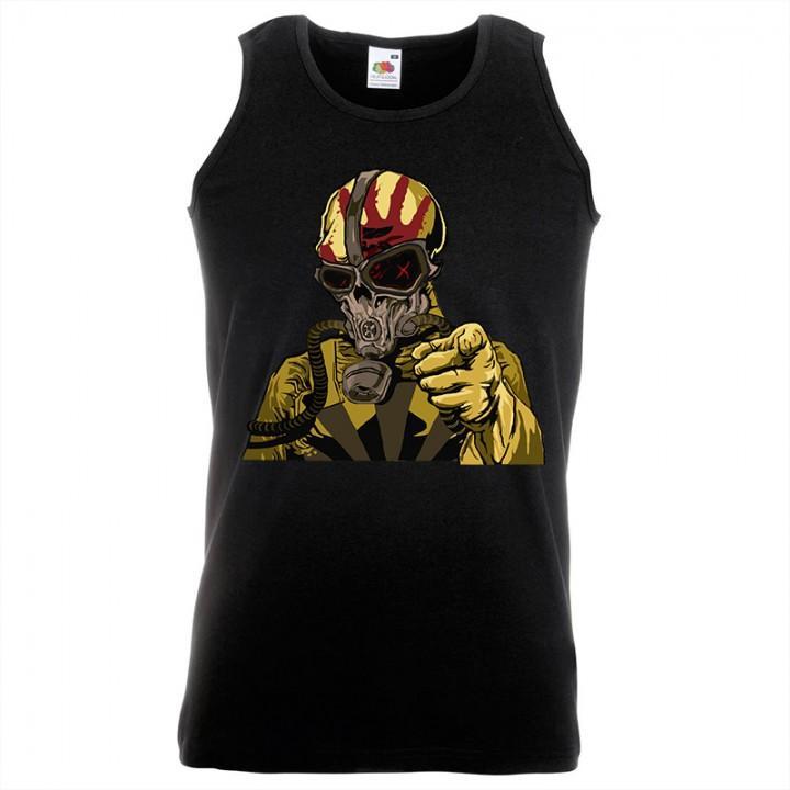 """Майка """"Five Finger Death Punch"""" (688)"""