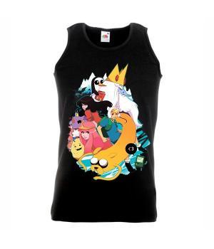 """Майка """"Adventure Time (Время приключений)"""""""