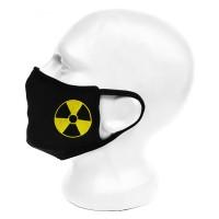 """Маска для лица с принтом """"Радиация"""""""