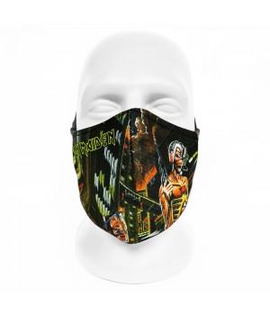 """Маска для лица с принтом """"Iron Maiden"""""""