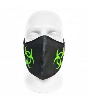 """Маска для лица с принтом """"Biohazard"""""""