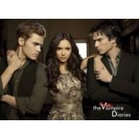 """Постер """"The Vampire Diaries (Дневники вампира)"""""""